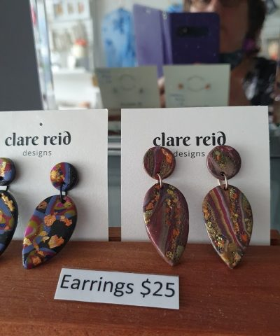 Clare Reid earrings Scattered Arts