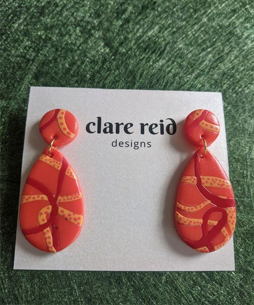 Earrings Scattered Arts