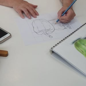 drawing classes Scattered Arts